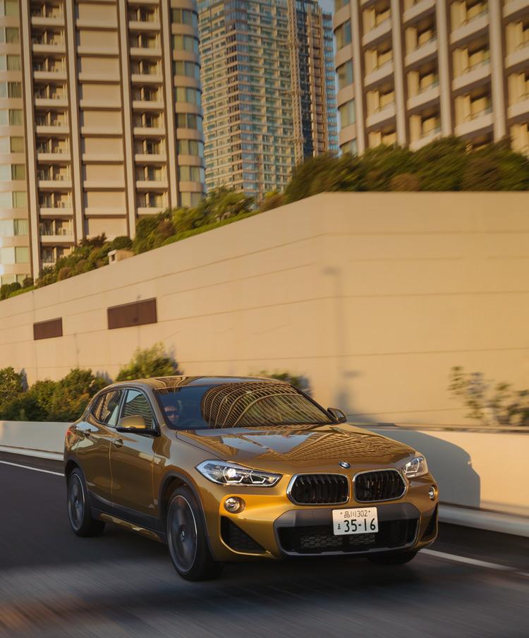 BMW X2 キービジュアル