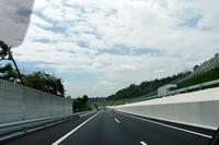 新しく開通した高尾山ICから相模原愛川IC間の道。