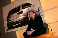 A6アバントのデザイナー、ユルゲン・ロフラーさん。
