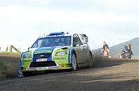 【WRC 2006】第15戦ニュージーランド、グロンホルム今季6勝目、フォード勢が1-2フィニッシュ!前モトGPチャンプのロッシは……の画像