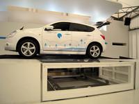 電気自動車(EV)のバッテリー交換の実証実験、横浜で開催中