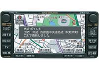 地図情報の更新は、携帯電話接続では簡単ながら操作を伴うが、DCMでは常時行われる。道路の新規開通後約7日で地図の更新ができるという早さがウリ。