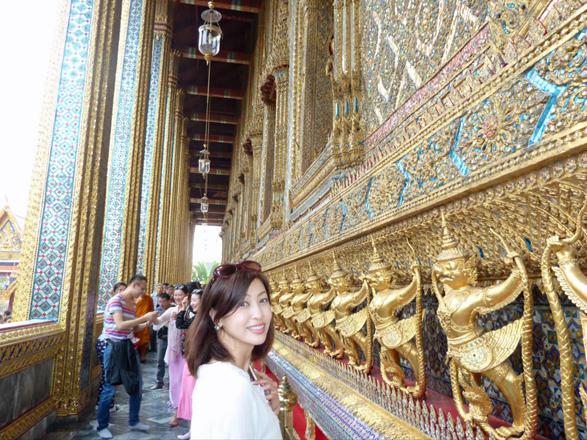 タイで王宮&エメラルド寺院(ワットプラケオ)、涅槃仏寺(ワットポー)に行... タイで王宮&エメ