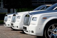 今回製作されたのは合計3台。ボディーカラーは、イングリッシュホワイト(白)で統一される。