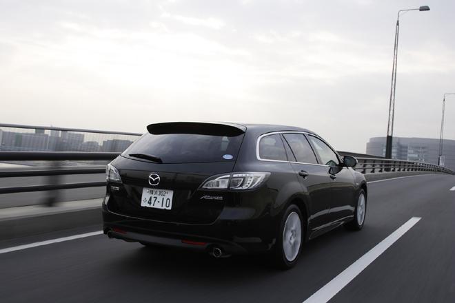 マツダ・アテンザスポーツワゴン 25S(FF/5AT)【ブリーフテスト】