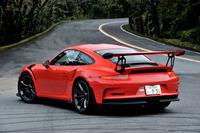 試乗車のボディーカラーはオプション色のラバオレンジ。その他、ホワイトとGTシルバーメタリックが標準色として用意される。