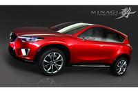 マツダの新型クロスオーバー、「CX-5」と命名