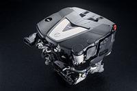 3リッターV6のディーゼルエンジン。