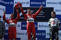 F1ヨーロッパGP、シューマッハー6勝目、佐藤はリタイア