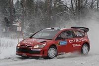 3年連続チャンピオンのセバスチャン・ロウブ。シトロエンのニューマシン「C4 WRC」を駆り、開幕戦モンテカルロで優勝、2戦目で2位に入り、現在チャンピオンシップをリードしている。
