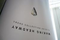今回発表されたカラートレンドのコンセプトは「MAKING HEADWAY」。アイコンの石器は、人類の進化を表すものとして用いられた。