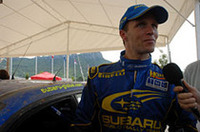 スバルに復調の兆し。ペター・ソルベルグはトップのグロンホルムを猛追し2位につけていたが、コースオフをきっし、最終的に13位でゴールした。