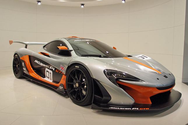 マクラーレンP1 GTR
