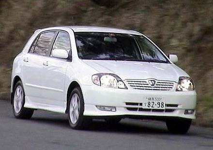 トヨタ・アレックスRS180 Sエディション(4AT)【ブリーフテスト】