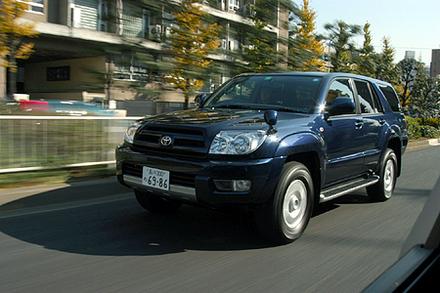 トヨタ・ハイラックスサーフ 3400ガソリン 2WD SSR-X(4AT)【ブリーフテスト】