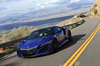 パームスプリングス付近の山道を走る新型「NSX」。日本向け車両もオハイオで生産される。(photo:北畠主税)