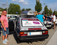 当時の東欧車のなかでは、ひときわスタイリッシュで、ハッチゲートを備えていた。