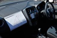 ダッシュボードにはコース図が貼られているものの、当然ながら走行中に確認する余裕はない。