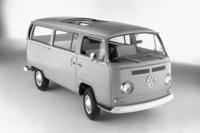 ドイツ製の「フォルクスワーゲン・タイプ2」(T2型)。1969年。