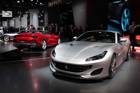 最高出力600ps、最大トルク760Nmを誇るフェラーリの新型4シーターオープン「ポルトフィーノ」が、フランク...