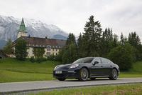 試乗会が開催されたのは、アルプス山脈を望むオーストリアのエルマウ。