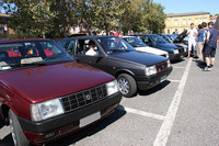 2010年7月25日、フィオレンツォーラ・ダルダで開催された「アウトビアンキ Y10」の25周年ミーティング。
