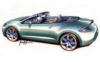 【デトロイトショー2006】三菱、EVのコンセプト「Concept-CT MIEV」と新型「エクリプススパイダー」を出展
