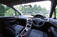 307スタイルATモデルの室内。