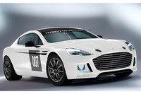 アストン・マーティンとAlset Global社が開発した「ラピードS」のレースカー。