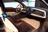 「BMW i3 コンセプト」のインテリア。