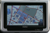クラリオン「DrivTraxP5」測位性能【PNDテスト】の画像