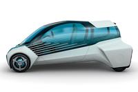 トヨタ、未来のエコカーFCVプラスを世界初公開【東京モーターショー2015】の画像