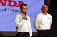 「シビックWTCC」を駆る、ティアゴ・モンテイロ(写真左)とガブリエル・タルキーニ。