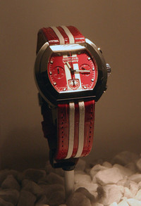 """第136回:「2004バーゼル&SIHH時計通信」(その5)案外安直な""""クルマコラボ時計""""製作エピソードの画像"""