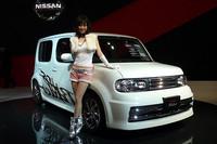 オーテック、「キューブ・ライダー」に高性能モデルと新しい福祉車両車