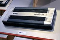 リニューアルされた「オーディソンLRx」パワーアンプ。クロスオーバーなどのコントロール部がデジタル化され、メイン部とは別基板となっている。