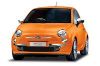 「フィアット500 ARANCIA(アランチャ)」。「アランチャ」とはイタリア語でオレンジを意味する。