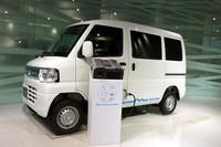 駆動用バッテリー(満充電)が16.0kWhのクルマの場合約9.0kWh、10.5kWhの場合は約5.6kWhを車外へ給電することが可能。