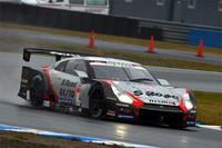 2012年シーズン最終戦を2位で終えた、No.1 S Road REITO MOLA GT-R。前戦で年間タイトルの獲得を決めたものの、それに華を添えるには至らず。
