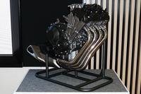 ホンダが発表した、バイク用の水冷650cc直4エンジン。