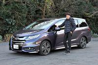 「谷口信輝の新車試乗」――ホンダ・オデッセイ アブソルートEX Honda SENSING(後編)の画像