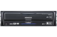 本体は1DINサイズのブラック仕様。下段に20GBのハードディスク、上段はDVDビデオなどがかけられるプレーヤー部がある。