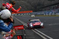 開幕戦を勝利で飾った、松田次生/ロニー・クインタレッリ組のNo.1 MOTUL AUTECH GT-R。