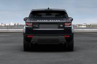 「レンジローバー イヴォーク」に黒いボディーカラーの特別仕様車の画像