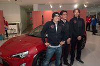 写真左からメインインストラクターを務めるピストン西沢氏と、インストラクター橋本洋平、高橋滋の両氏。