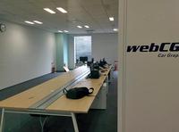 移転作業中の新オフィス