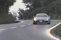 アウディR8(4WD/6AT)【動画試乗記(後編)】の画像