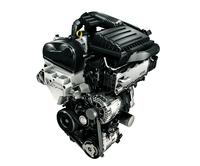 最高出力と燃費性能がアップした1.4リッターターボエンジン。7段のDSGが組み合わされる。