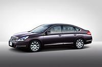 北京国際自動車ショーで発表された、新型「ティアナ」の写真。