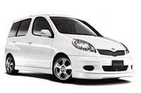 モデリスタ「トヨタ・ファンカーゴ」用パーツをリリースの画像